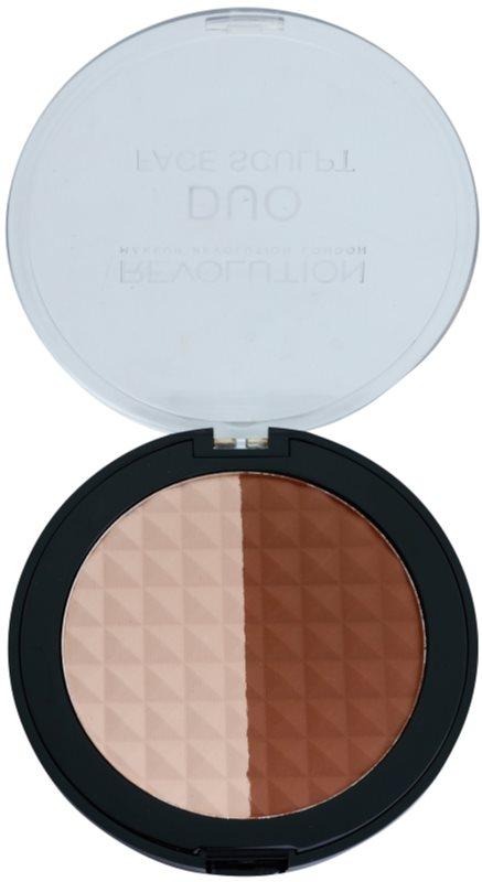 Makeup Revolution Duo бронзер та освітлювач 2 в 1
