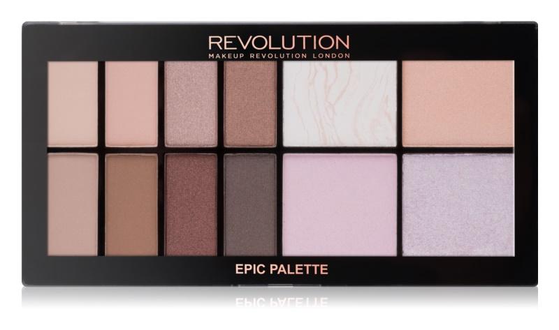 Makeup Revolution Epic Day paleta pentru fata multifunctionala