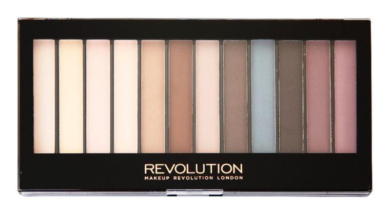 Makeup Revolution Essential Mattes paleta očních stínů