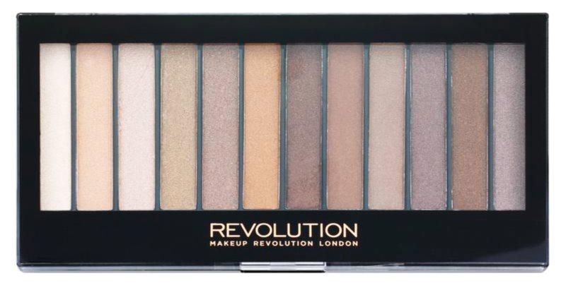 Makeup Revolution Essential Shimmers paleta de sombras