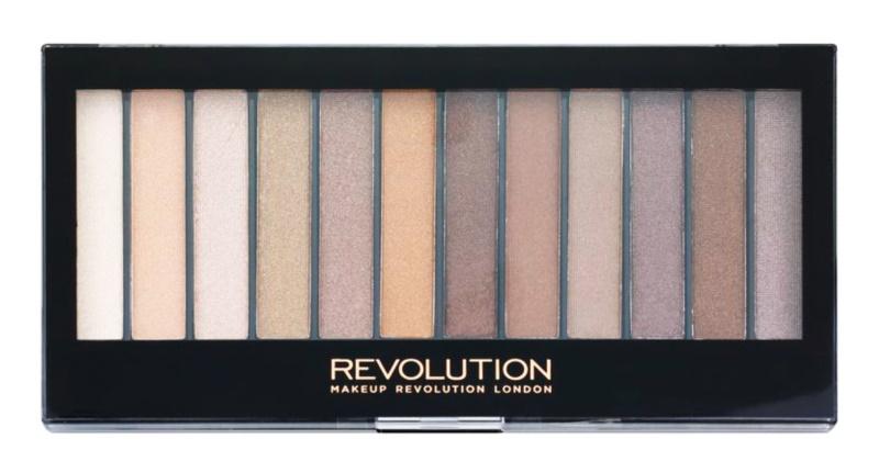 Makeup Revolution Essential Shimmers paleta očních stínů