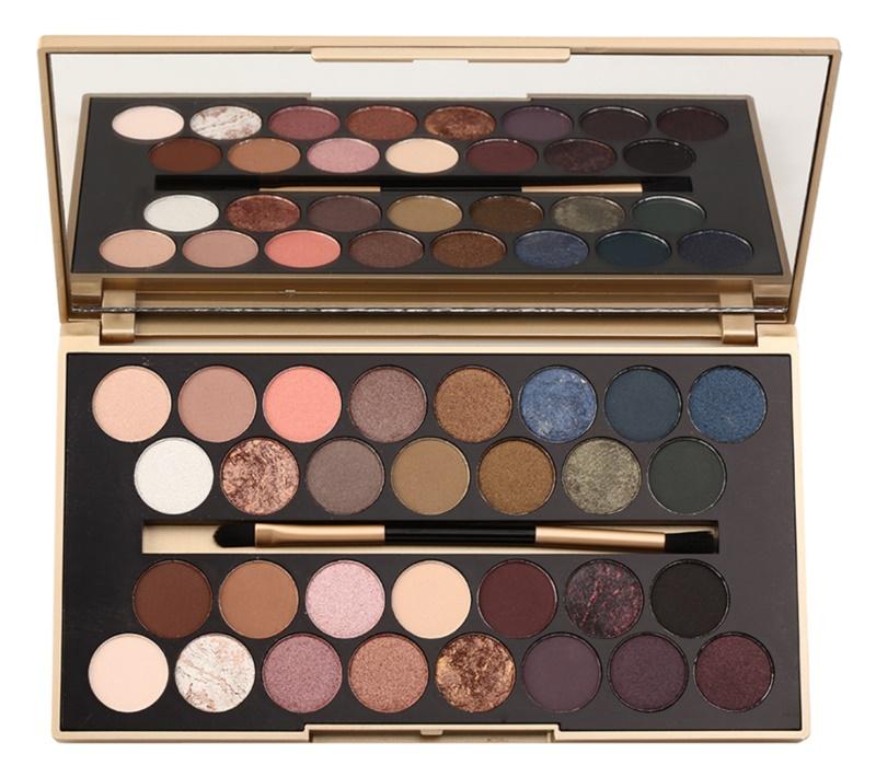 Makeup Revolution Fortune Favours the Brave Palette mit Lidschatten inkl. Spiegel und Pinsel