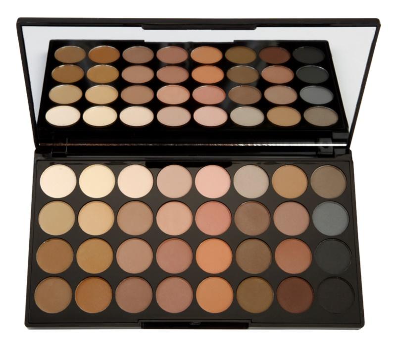 Makeup Revolution Flawless Matte paleta očních stínů