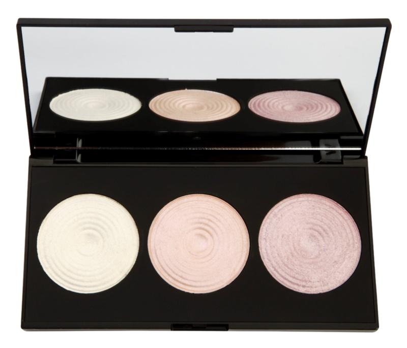 Makeup Revolution Highlight élénkítő púderek palettája