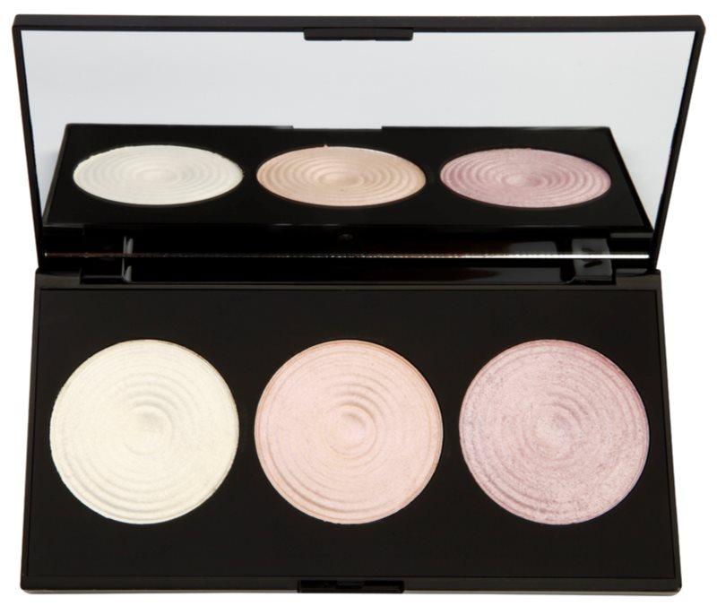 Makeup Revolution Highlight палетка роз'яснюючих пудр