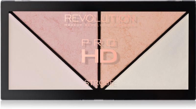 Makeup Revolution Pro HD Strobe Revolution paleta rozjasňovačov
