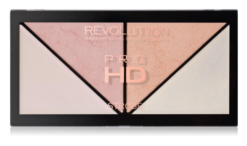 Makeup Revolution Pro HD Strobe Revolution paleta rozjasňovačů