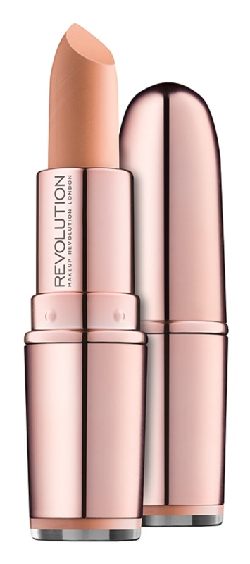 Makeup Revolution Iconic Matte Nude Lipstick with Matte Effect