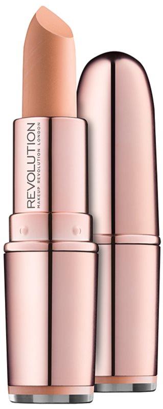 Makeup Revolution Iconic Matte Nude κραγιόν με ματ αποτελέσματα