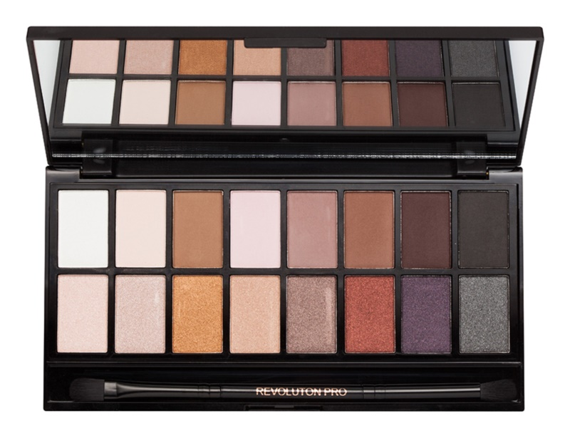 Makeup Revolution Iconic Pro 1 Eyeshadow Palette with Mirror and Applicator