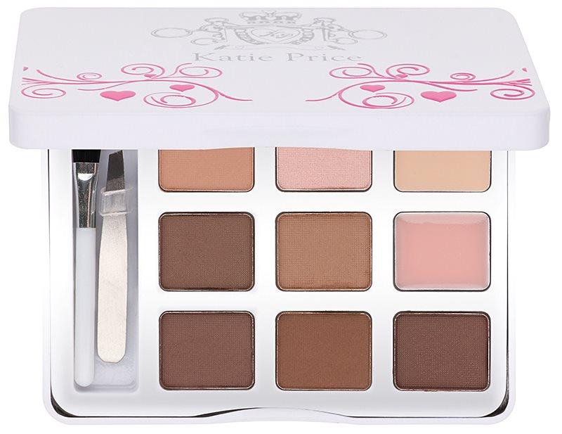 Makeup Revolution Katie Price palette sourcils