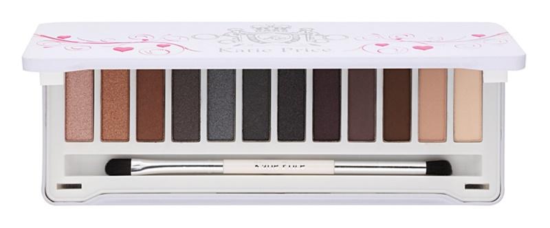 Makeup Revolution Katie Price paleta farduri de ochi