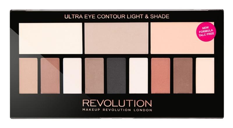 Makeup Revolution Ultra Eye Contour Paleta contur pentru ochi