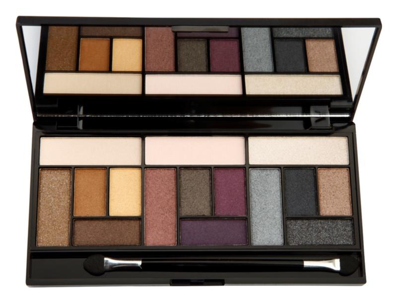Makeup Revolution Pro Looks Big Love paletka očných tieňov