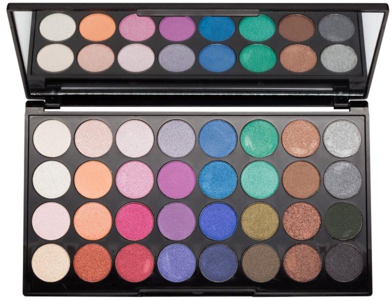 Makeup Revolution Mermaids Forever paleta očných tieňov so zrkadielkom
