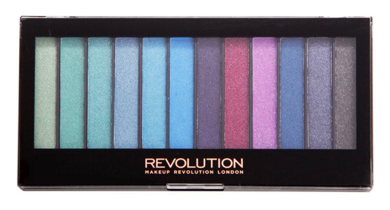 Makeup Revolution Mermaids Vs Unicorns paleta očních stínů