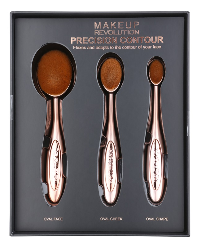 Makeup Revolution Pro Precision Brush kontúrozós ecset szett