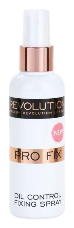 Makeup Revolution Pro Fix zmatňujúci fixačný sprej na make-up