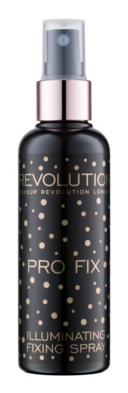 Makeup Revolution Pro Fix освітлюючий фіксуючий спрей