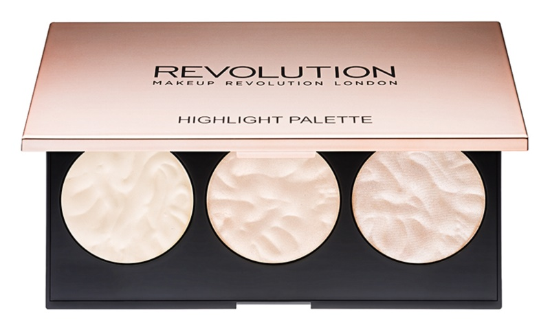 Makeup Revolution Rose Lights paleta luminoasa