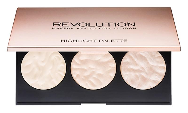 Makeup Revolution Rose Lights paleta rozjasňovačov
