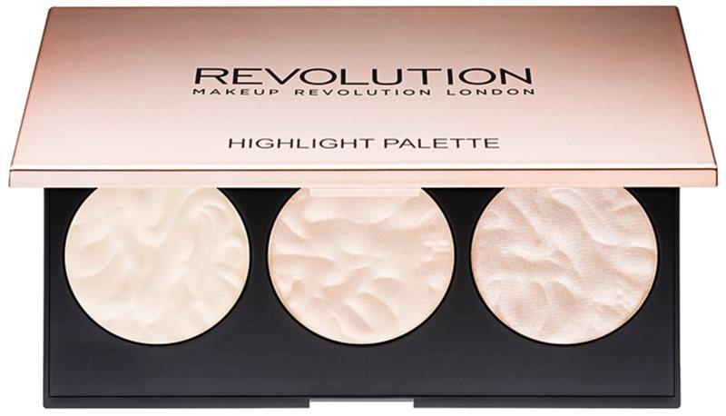 Makeup Revolution Rose Lights палетка хайлайтерів