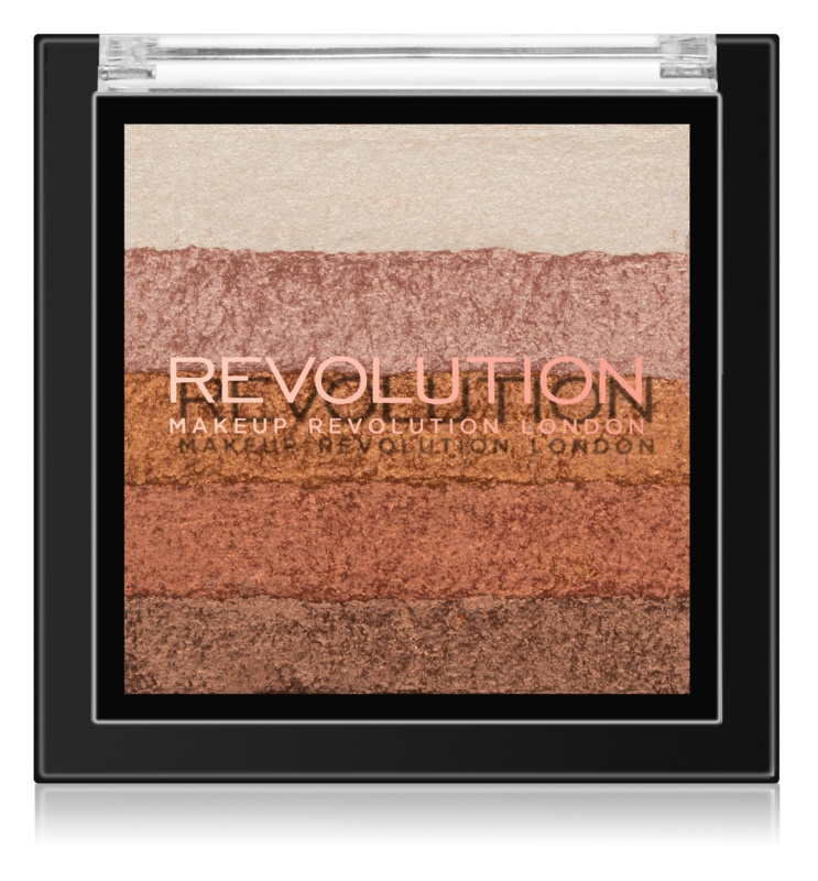 Makeup Revolution Shimmer Brick bronzer i rozjaśniacz 2 w 1