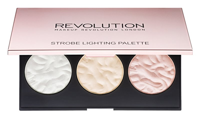 Makeup Revolution Strobe Lighting paleta rozjasňovačov