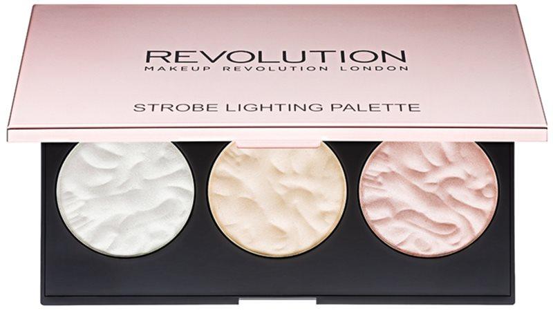 Makeup Revolution Strobe Lighting палетка хайлайтерів