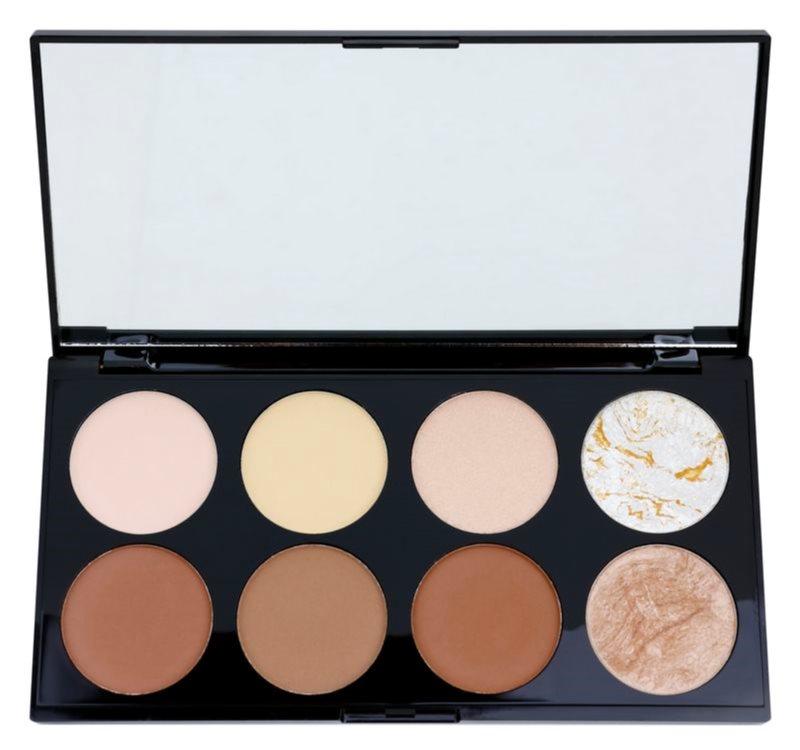 Makeup Revolution Ultra Contour paleta pentru contur facial