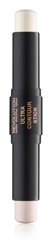 Makeup Revolution Ultra Chroming oboustranná rozjasňující tyčinka