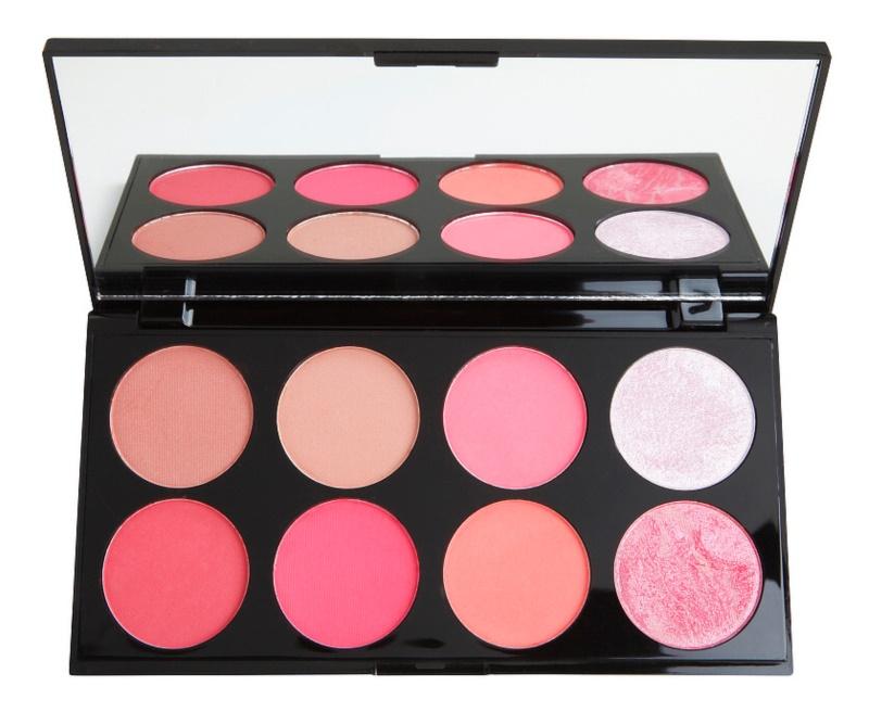 Makeup Revolution Ultra Blush arcpirosító paletta
