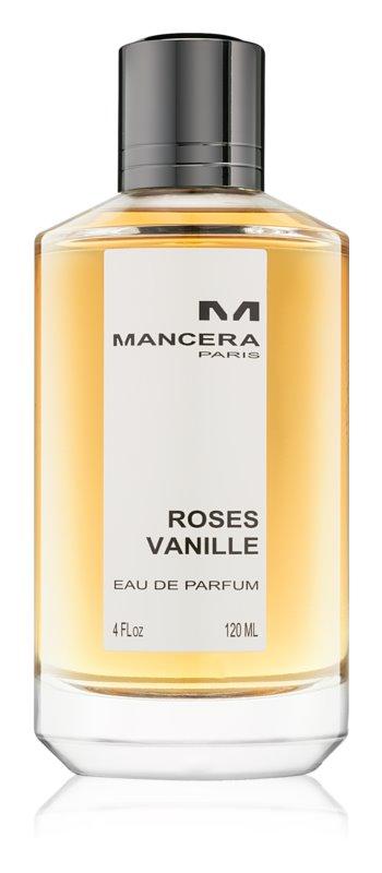 Mancera Roses Vanille eau de parfum pour femme 120 ml