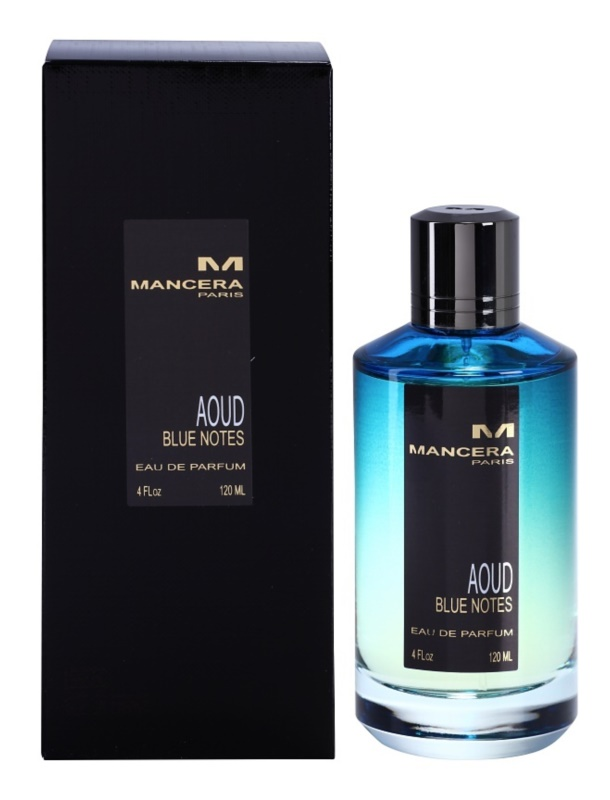 Mancera Aoud Blue Notes eau de parfum unisex 120 ml