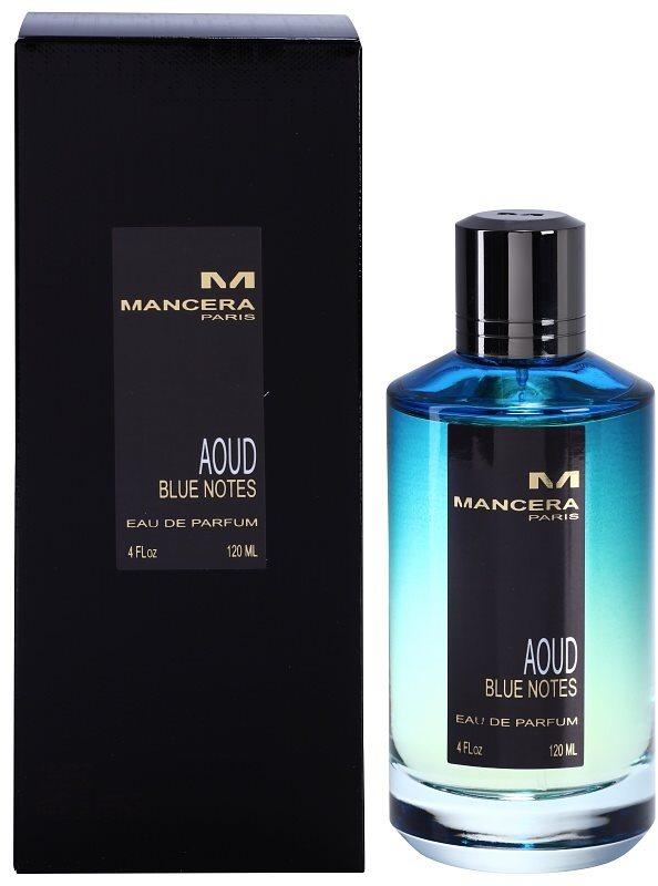 Mancera Aoud Blue Notes parfémovaná voda unisex 120 ml