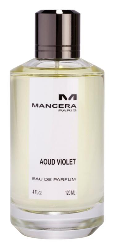 Mancera Aoud Violet eau de parfum pentru femei 120 ml