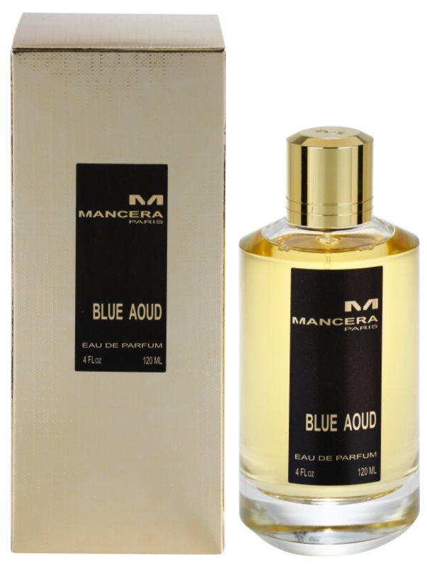 Mancera Blue Aoud Parfumovaná voda unisex 120 ml