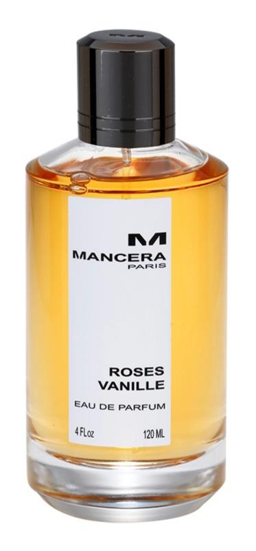 Mancera Roses Vanille eau de parfum nőknek 120 ml