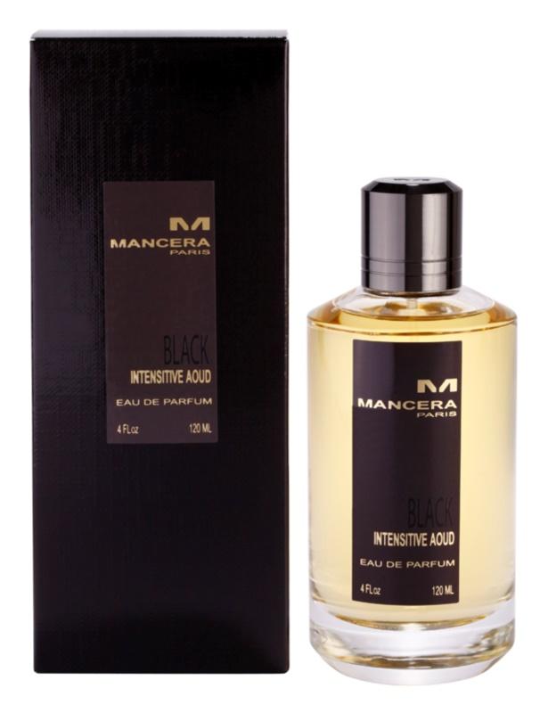 Mancera Black Intensitive Aoud Eau de Parfum unisex 120 ml