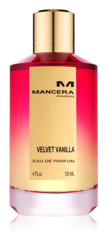 Mancera Velvet Vanilla Eau de Parfum unissexo 120 ml