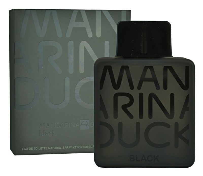 Mandarina Duck Black Eau de Toilette for Men 100 ml