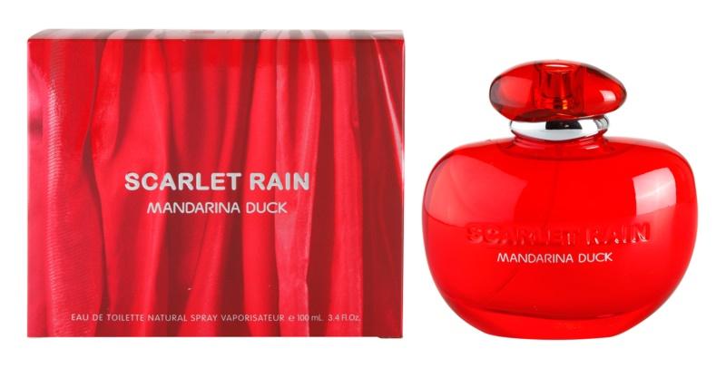 Mandarina Duck Scarlet Rain eau de toilette per donna 100 ml