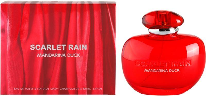 Mandarina Duck Scarlet Rain toaletní voda pro ženy 100 ml