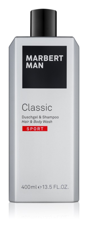 Marbert Man Classic Sport gel de duche para homens 400 ml