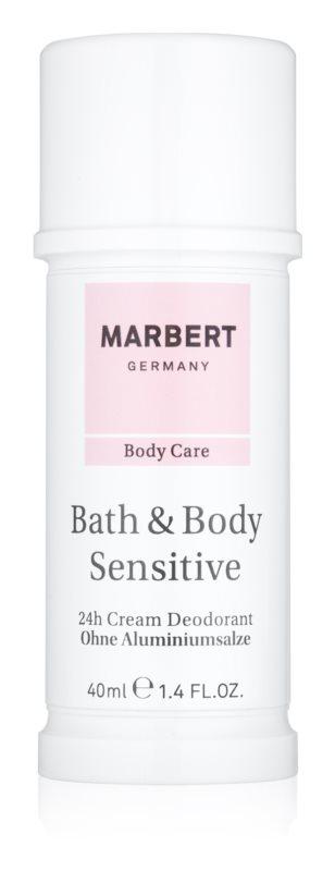 Marbert Bath & Body Sensitive кремовий антиперспірант 24 години