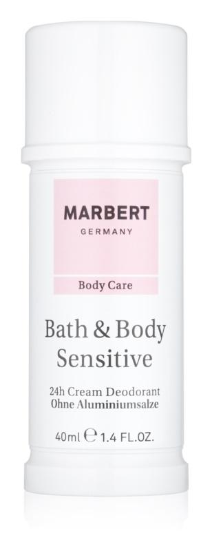 Marbert Bath & Body Sensitive Antiperspirant Cream 24 h