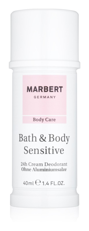 Marbert Bath & Body Sensitive deodorant crema 24 de ore
