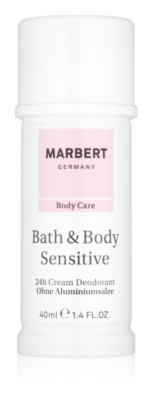 Marbert Bath & Body Sensitive deodorant crema 24 de ore