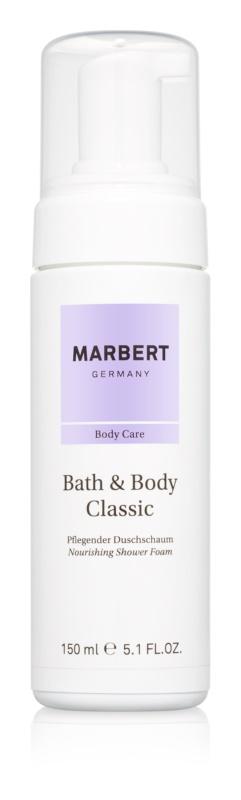 Marbert Bath & Body Classic sprchová pěna pro ženy 150 ml