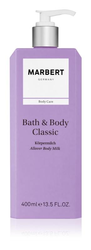 Marbert Bath & Body Classic Body Emulsion for Women 400 ml